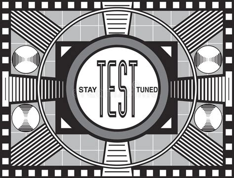 tv test pattern stock images royalty free images retro tv test pattern stock illustration illustration of