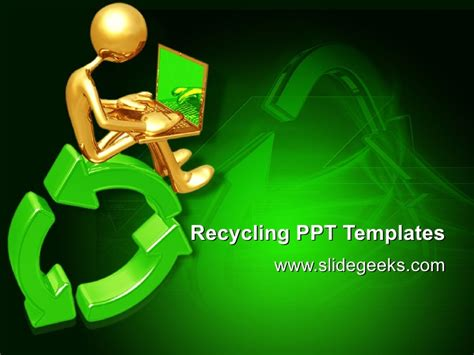 recycling powerpoint recycling ppt templates