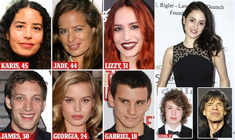 rolling stones mick jaggers   eighth child