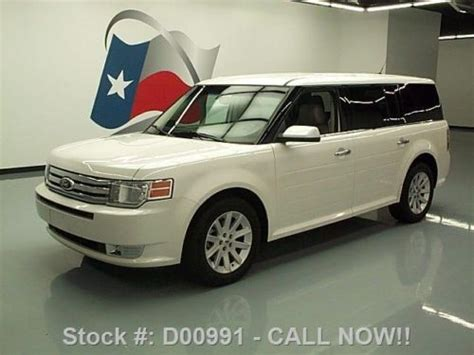 how it works cars 2012 ford flex parking system sell used 2012 ford flex sel 7 pass leather park assist 25k miles texas direct auto in stafford