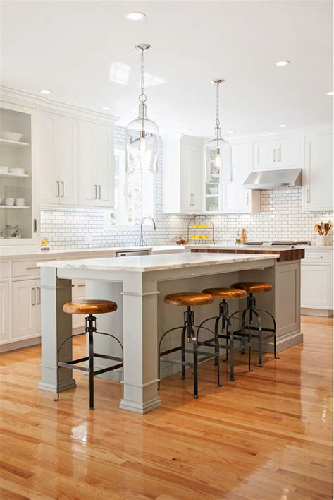 r and d kitchen fashion island 36 modern farmhouse kitchens that fuse two styles perfectly