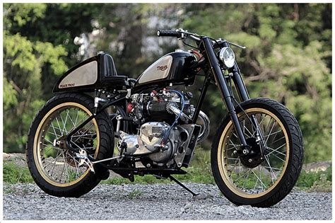 Triumph Motorrad 1950 by 1950 Triumph Indian Peace Frog Pipeburn
