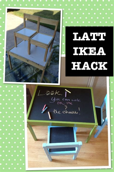 hack and paint ikea hack latt children s table dissembled and cleaned primed pieces with primer spray paint