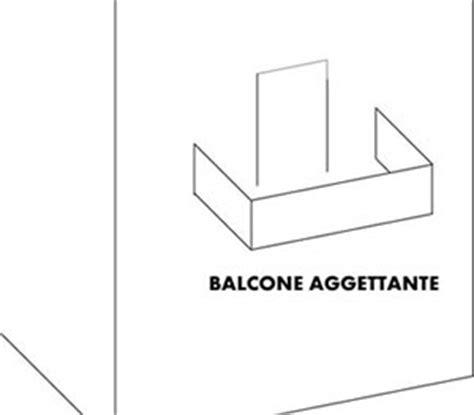 definizione di terrazzo propriet 224 familiare balcone incassato definizione