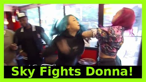 donna and kenya fight black ink sky fights donna from black ink crew here s what happened