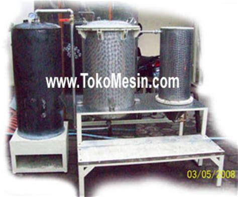Exsport Minyak Nilam alat destilasi