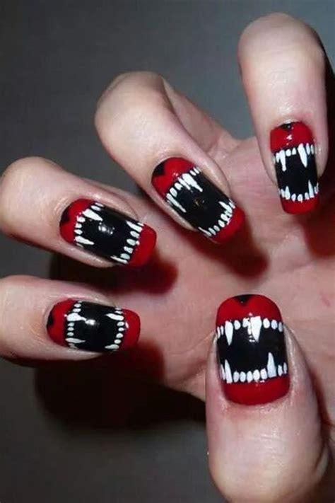 classy  bold halloween nail designs   styleoholic