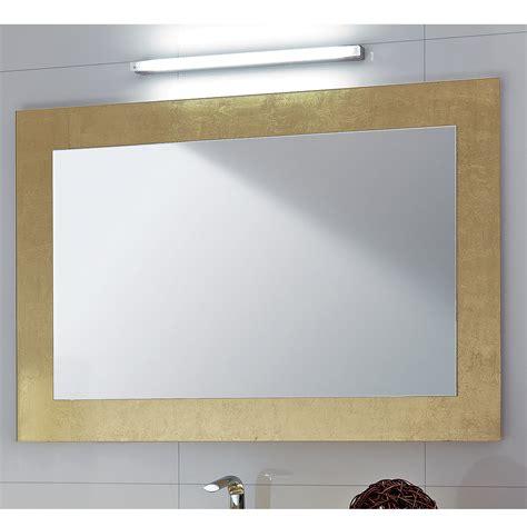 cornice in vetro specchio da bagno cornice in vetro decorato foglia oro pascal