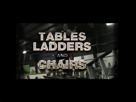 tables ladders and chairs 2k15 tables ladders and chairs dudley boyz vs the