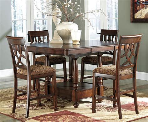 Chicago Furniture 5 Piece Counter Height Dining Set Counter Height Dining Table Sets