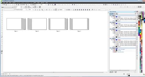 corel draw booklet layout staggered fold booklet coreldraw x6 coreldraw graphics