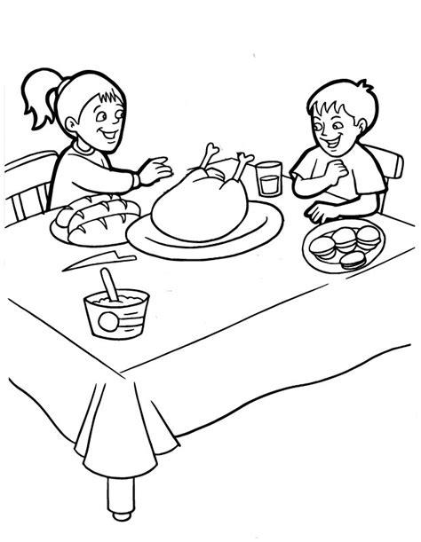imagenes para colorear de accion de gracias d 237 a de acci 243 n de gracias en familia para pintar