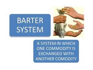 barter system authorstream