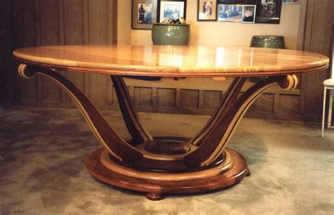 crafted deco dining table by louis fry craftsman