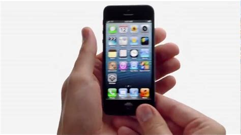 iphone 5 tv ad thumb commercial