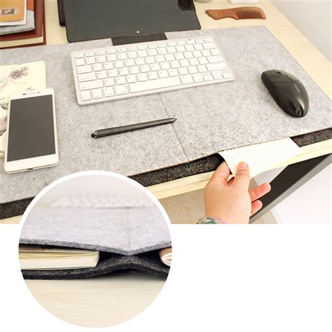 desk mouse pad fashion durable computer desk mat modern table felt office