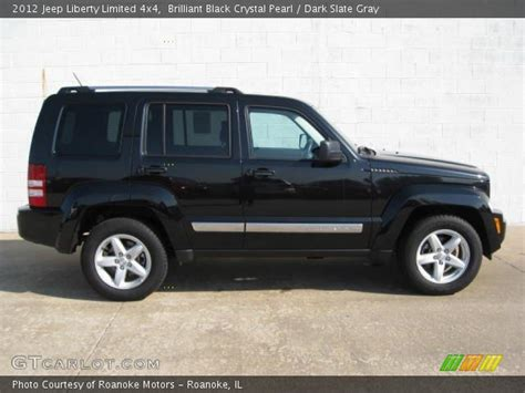 Jeep Liberty 2012 Black Brilliant Black Pearl 2012 Jeep Liberty Limited