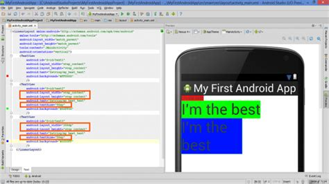 android layout fixed height lesson how to build android app with linearlayout plus
