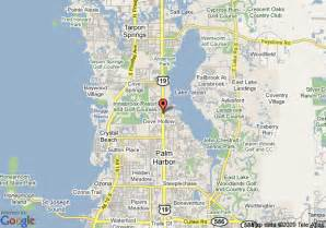 Palm Harbor Florida Map by Map Of Innisbrook Resort And Golf Club Palm Harbor