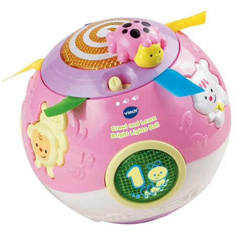 bright lights baby toys vtech baby crawl and learn bright lights pink 163 16