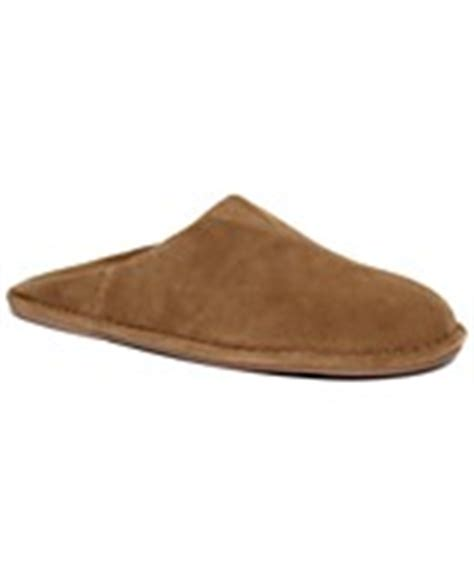 macys mens house slippers men s house slippers browse for men s house slippers at macy s