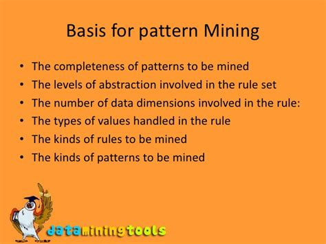 pattern mining definition data mining mining associations and correlations