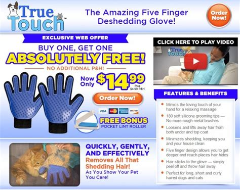 true touch review pet brush glove freakin reviews