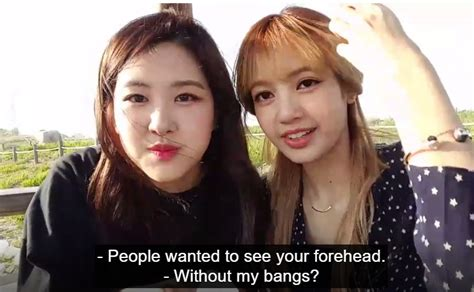 how to get a look with bangs without cutting your hair lisa without bangs allkpop forums