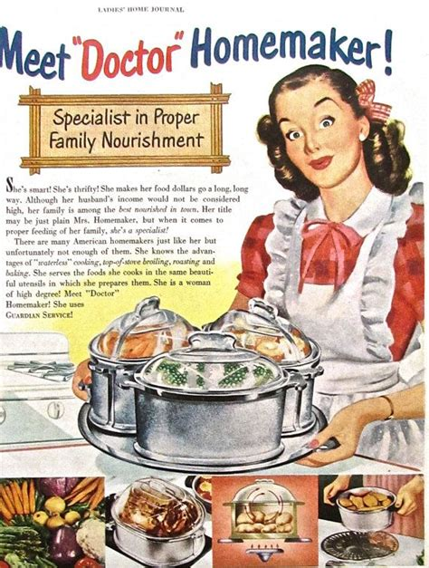 1950s vintage homemaker advertisement guardian cookware