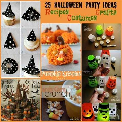 halloween party ideas crafts recipes decorations
