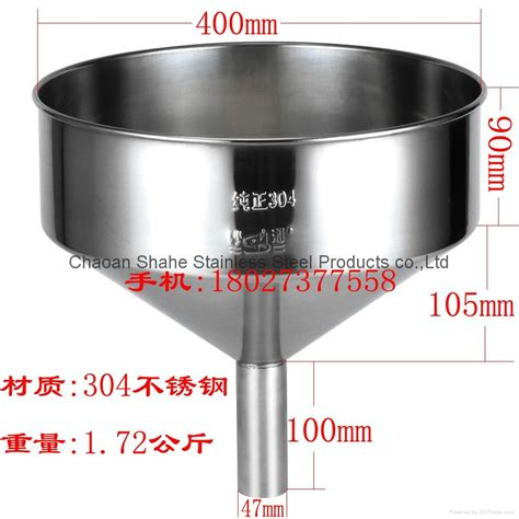 As Stainless 201 1 14 Diameter 32 Mm Panjang 500 Mm the quality is 1 75 kg diameter 40 cm material 201 stainless steel funnel china manufacturer