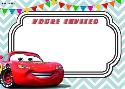 free printable birthday cards lightning mcqueen free printable cars 3 lightning mcqueen invitation