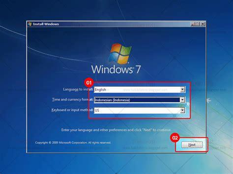 format ulang laptop cara install ulang komputer atau laptop menggunakan