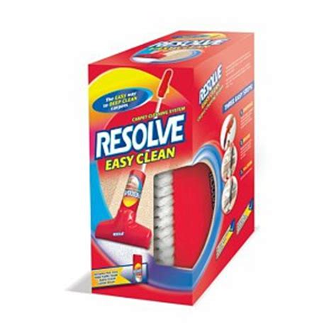 Resolve Upholstery Cleaner Review by Resolve Easy Clean Carpet Cleaning System Product Review