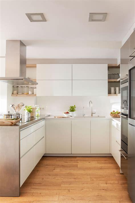 muebles de cocina modernas cocinas peque 241 as claves para distribuirlas en u