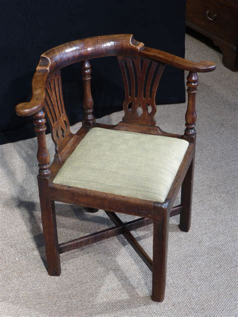 antique corner chair oak corner chair georgian corner
