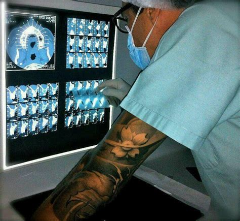 doctors with tattoos 26 best striking tattoos images on