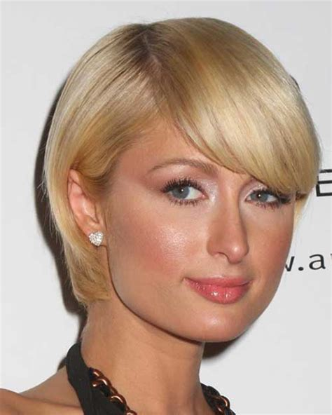 top 34 best short hairstyles with bangs for round faces hairstyles for woman