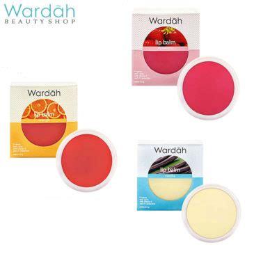 Wardah Lip Balm Vanilla 6 5 Gr 6 merek lip balm lokal yang jaga bibirmu tetap lembab