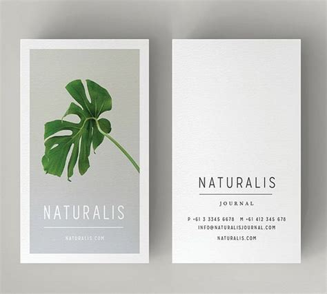 Phlet Card Design Templates by Minimal Business Card Template Business Cards