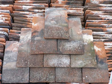 Handmade Roof Tiles - reclaimed handmade roof tiles