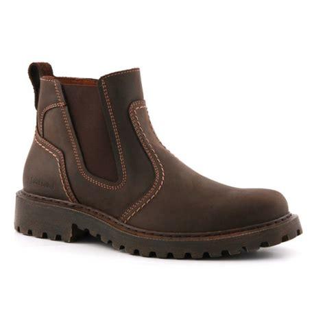 josef seibel corrado brown waxy leather pull on boot