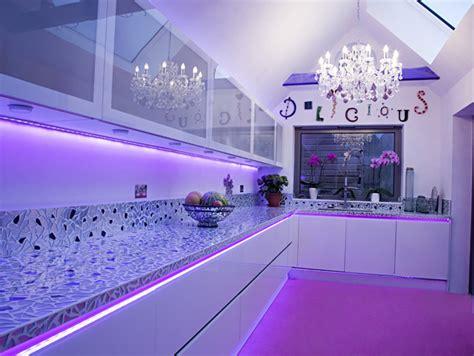 Kitchen Splashback Ideas Uk by Led Kitchen Lighting Illuminated Light Panels