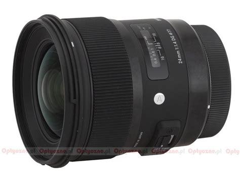 Sigma 24mm F 1 4 Dg Hsm A sigma a 24 mm f 1 4 dg hsm lens review lenstip
