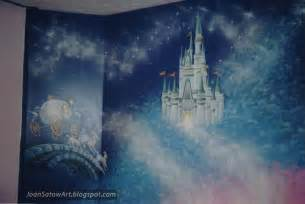 cinderella castle wall mural images