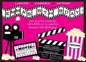 movie ticket party invitation templates cloudinvitation com