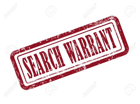 Oklahoma Bench Warrant Search Warrant Clip Cliparts