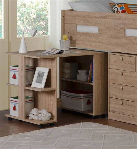 Oak Mid Sleeper Bed by Frankie Oak Mid Sleeper Bed With Storage