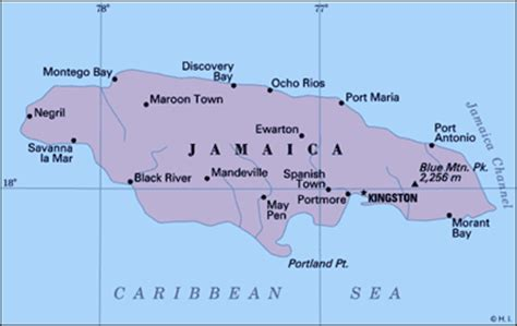 map world jamaica worldpress org jamaica profile