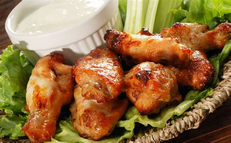Golden Spicy Wing spicy chicken wings recipe at geappliances